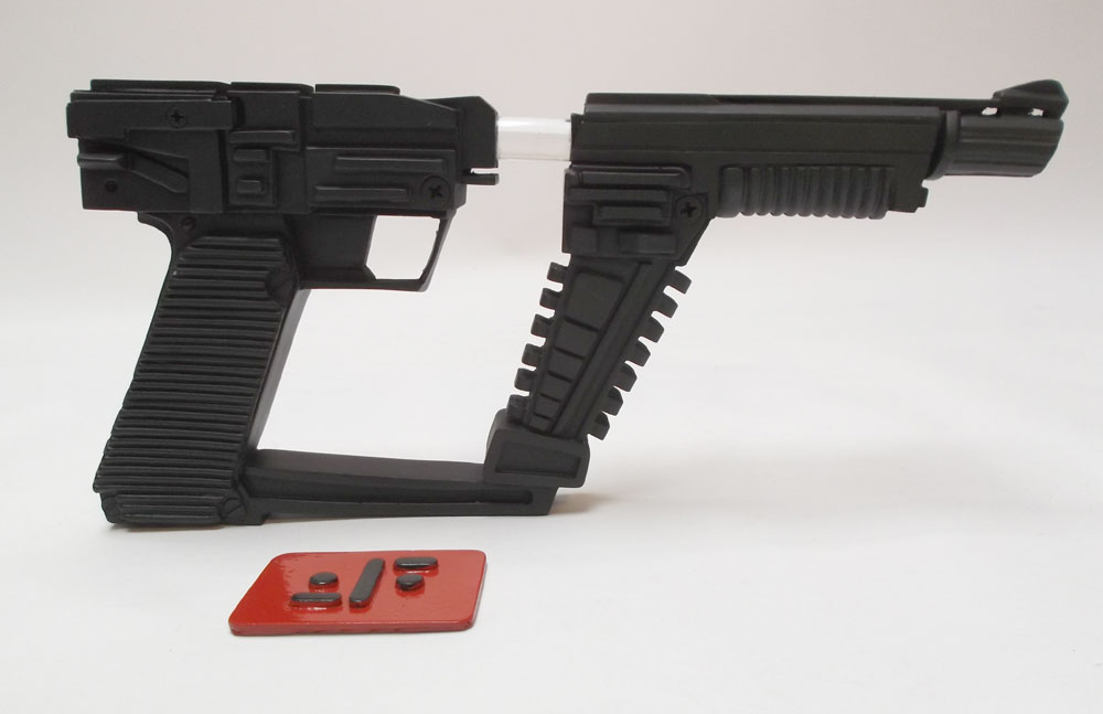 V TV Series Visitors Laser Pistol Gun Prop Replica