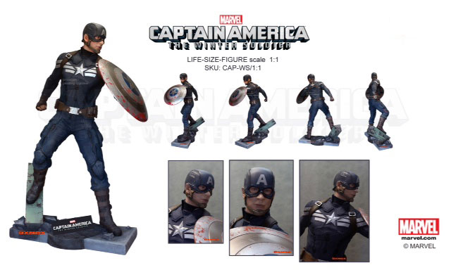 Captain America 2 Life size Display