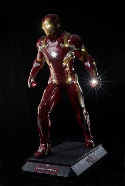 Captain America Civil War Iron Man Life-Size Replica