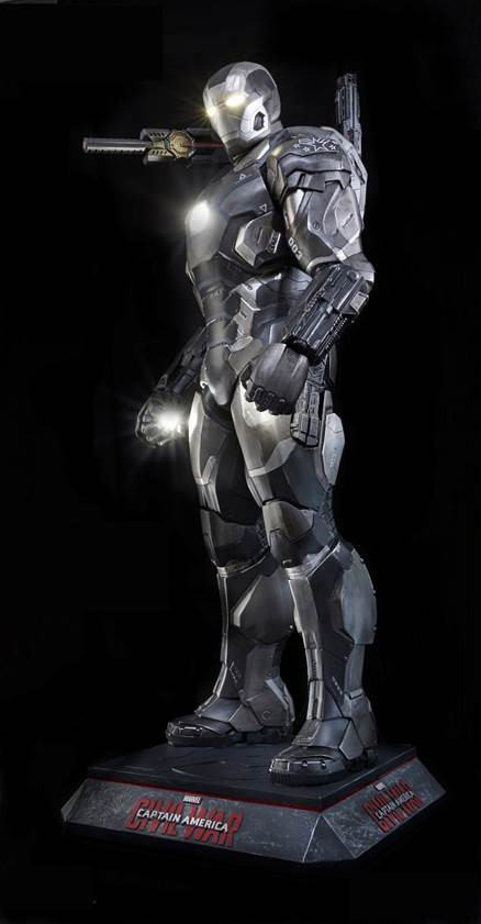 Captain America Civil War War Machine Life-Size Replica