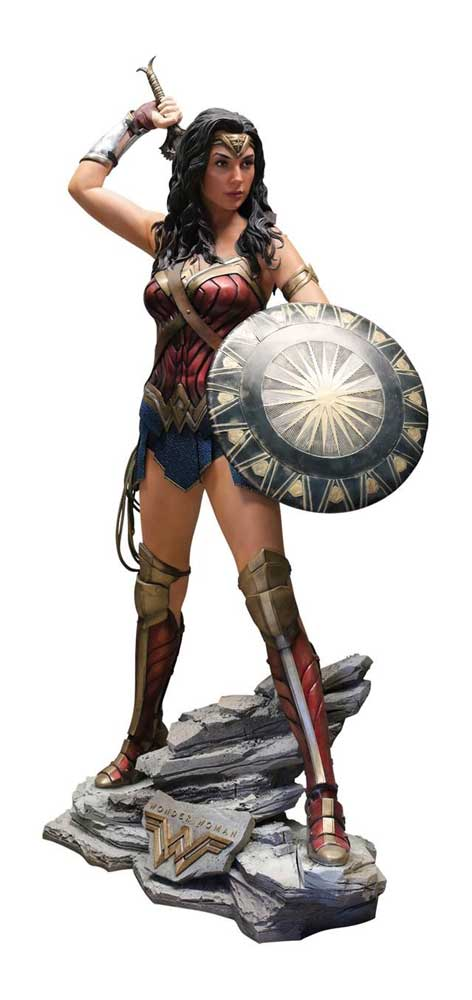 Wonder Woman Life-Size Statue Display