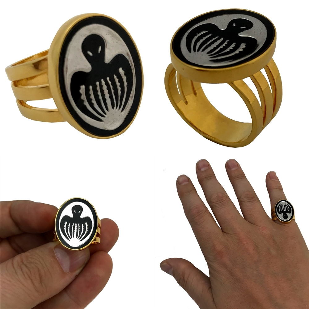 James Bond 007 Thunderball Spectre Ring Prop Replica