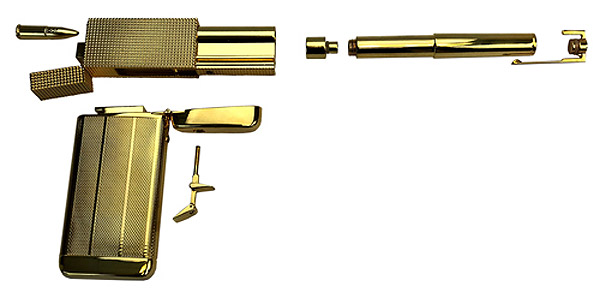James Bond 007 The Golden Gun Limited Edition Prop Replica