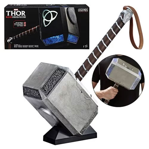 Thor Mjolnir Hammer Marvel Legends Electronic Prop Replica