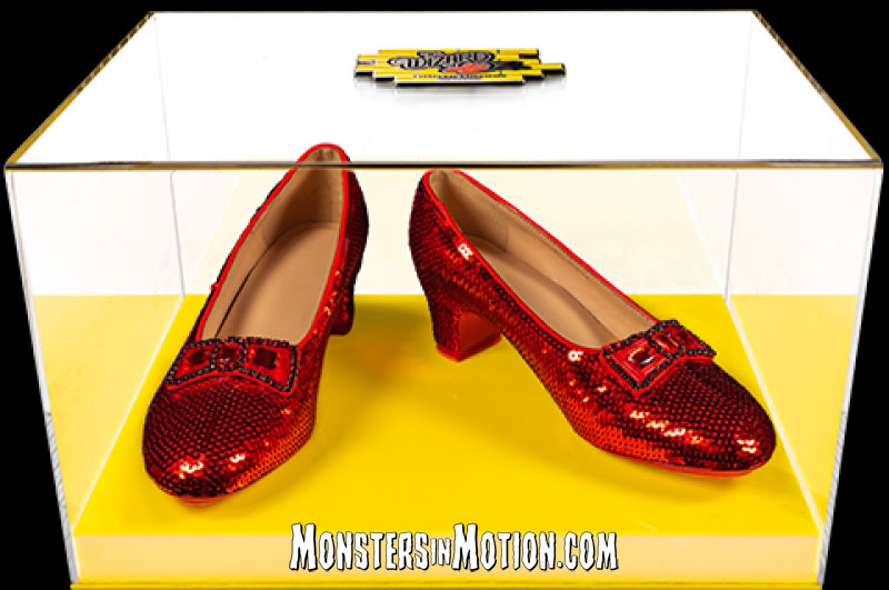 Wizard of Oz Dorthy's Ruby Slippers Prop Replica Yellow Brick Road Edition