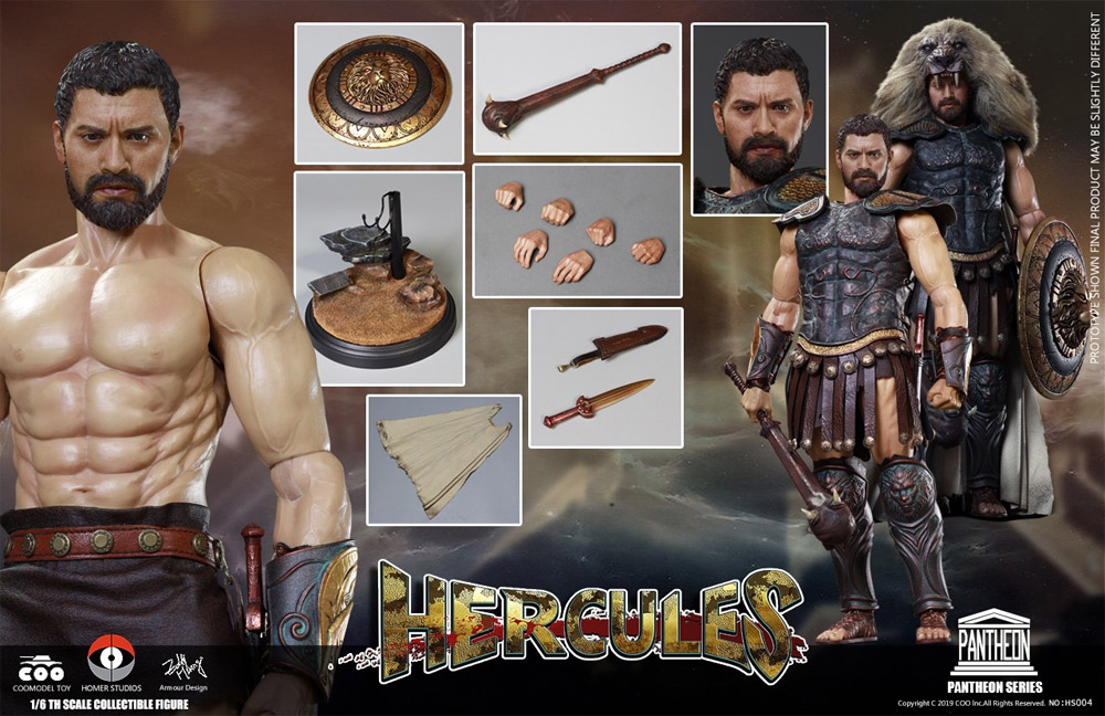 God of War Hercules 1/6 Scale Figure by Coo Toys