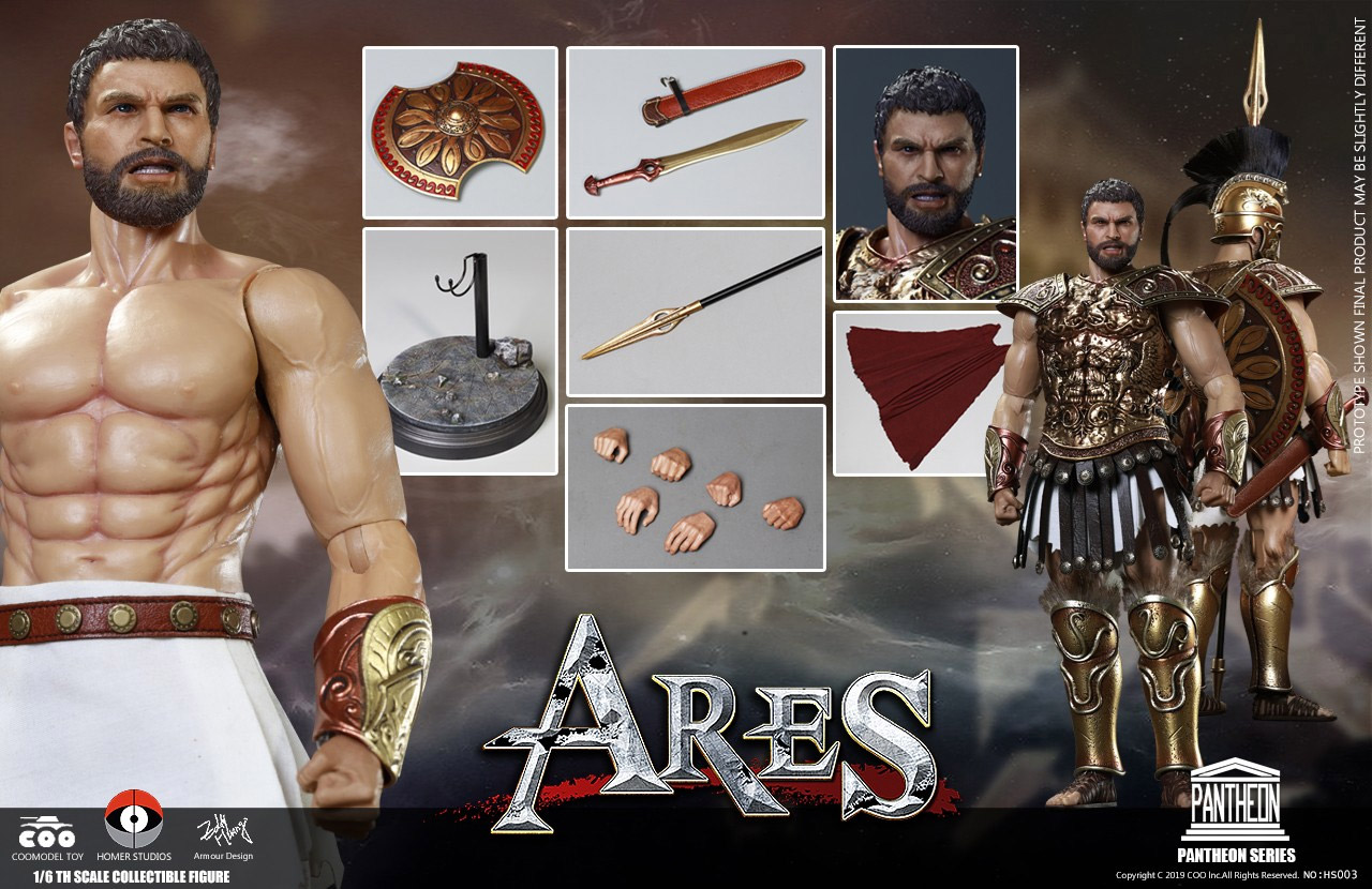 God of War Ares 1/6 Scale Figure by Coo Toys