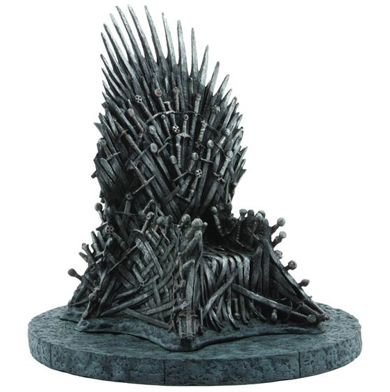 Game of Thrones Iron Throne 7 Inch Replica Statue - Click Image to Close