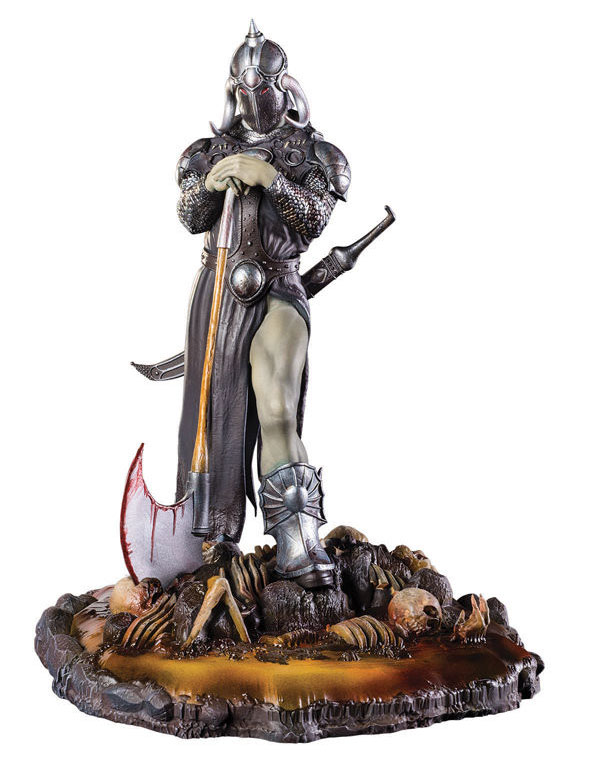 "Frank Frazetta's Death Dealer 3 10"" Statue with Base"