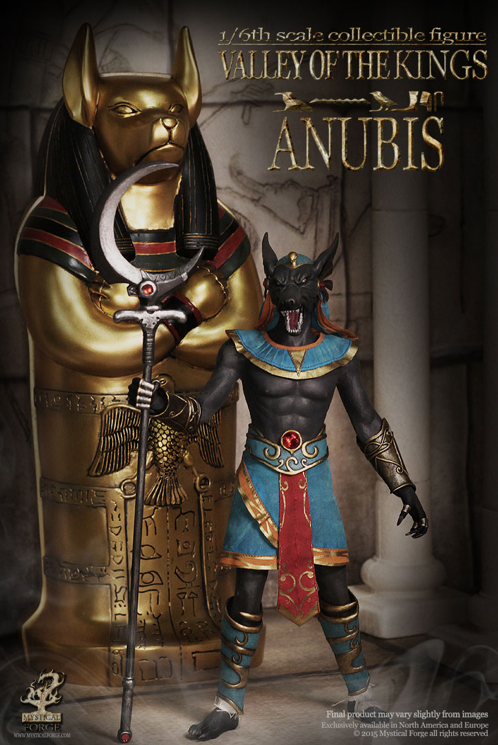 Valley of the Kings Anubis 1/6 Scale Figure by Mystical Forge