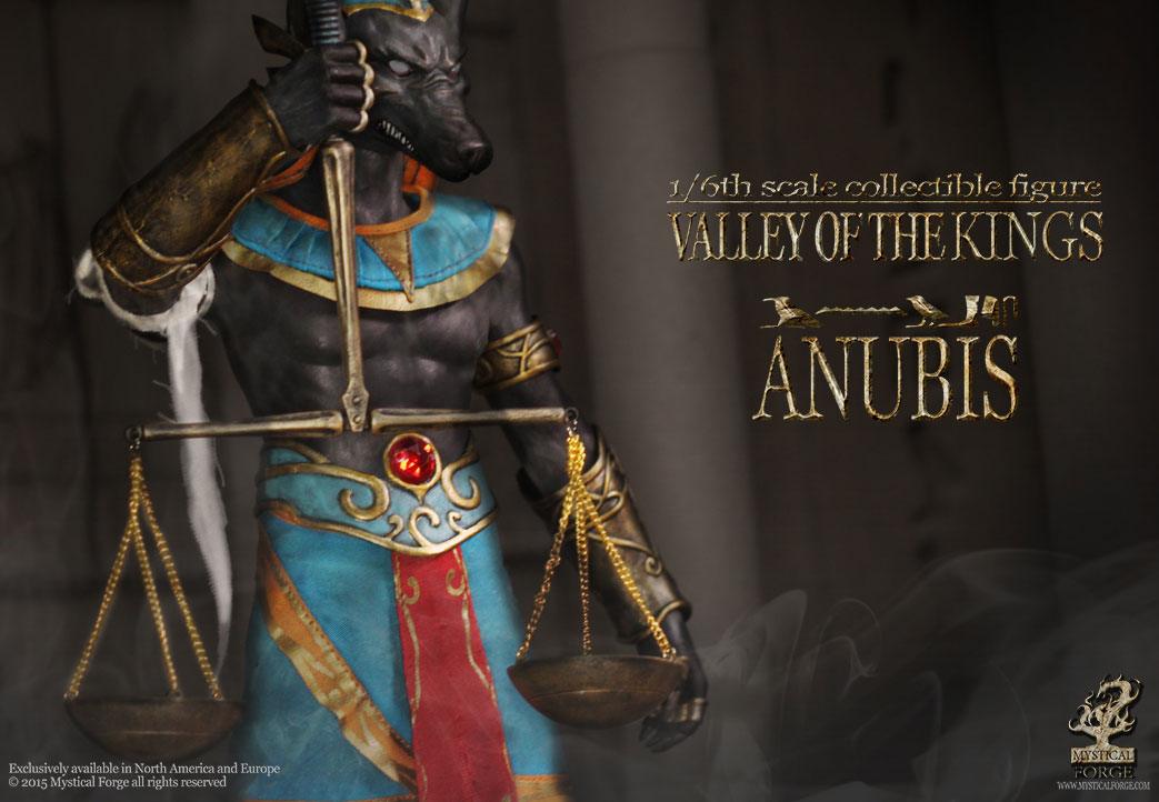 Valley of the Kings Anubis 1/6 Scale Figure by Mystical Forge Valley