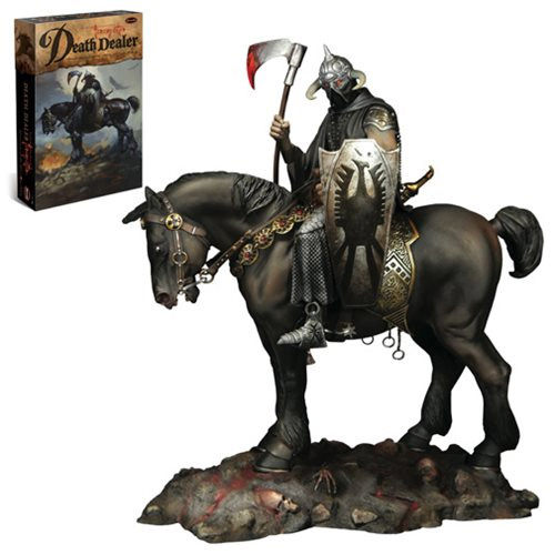 Frank Frazetta Death Dealer 1/10 Scale Model Kit by Moebius
