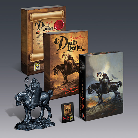Frank Frazetta Death Dealer 1/10 Scale Signature Edition Model Kit by Moebius