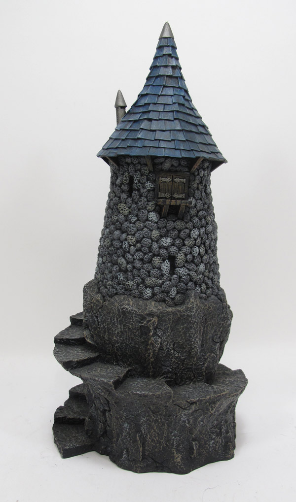 "Wizard Tower 28mm Scale 12"" Tall Pre-Painted Gaming Building"