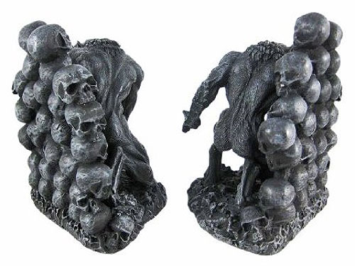 "Werewolf 7"" Tall Set of 2 Bookends"