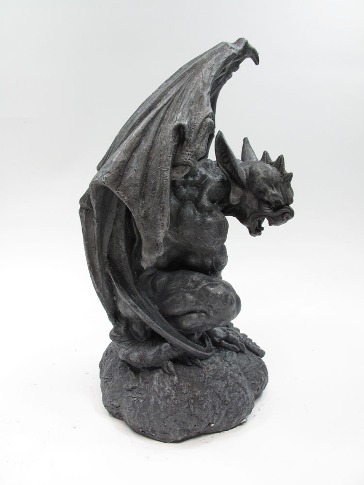 "Gargoyle 12"" Cold Cast Resin Statue"