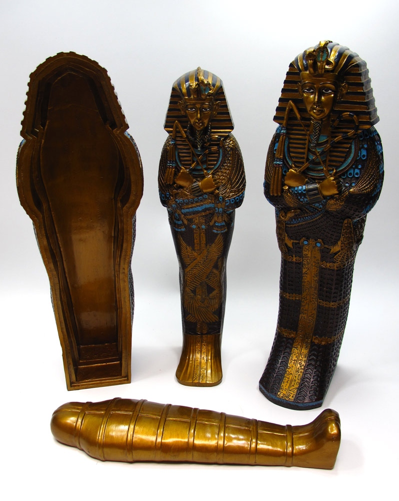 King Tut Egyptian Sarcophagus 1/6 Scale Figure