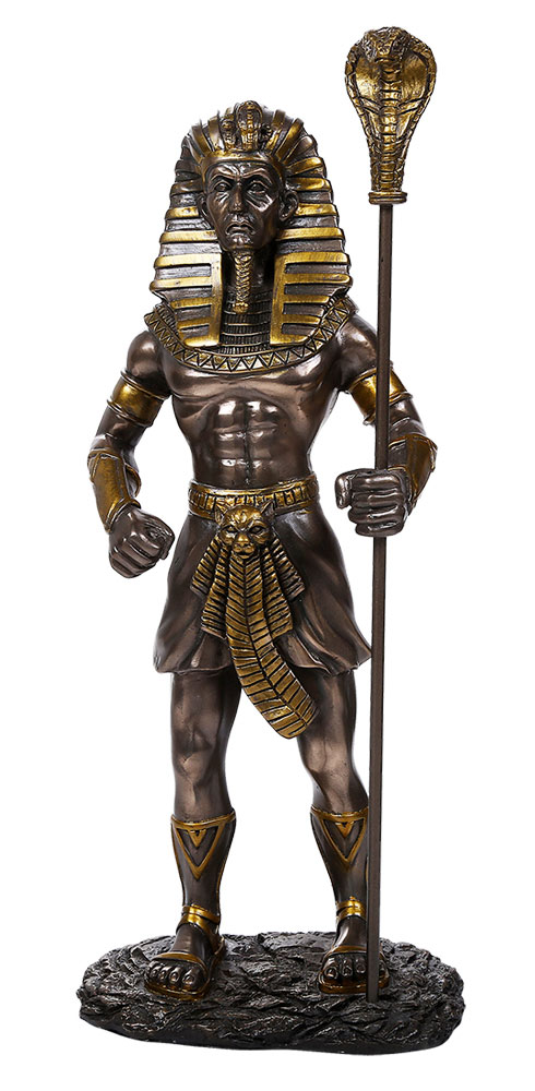 King Tut Egyptian 1/6 Scale Bronze Statue