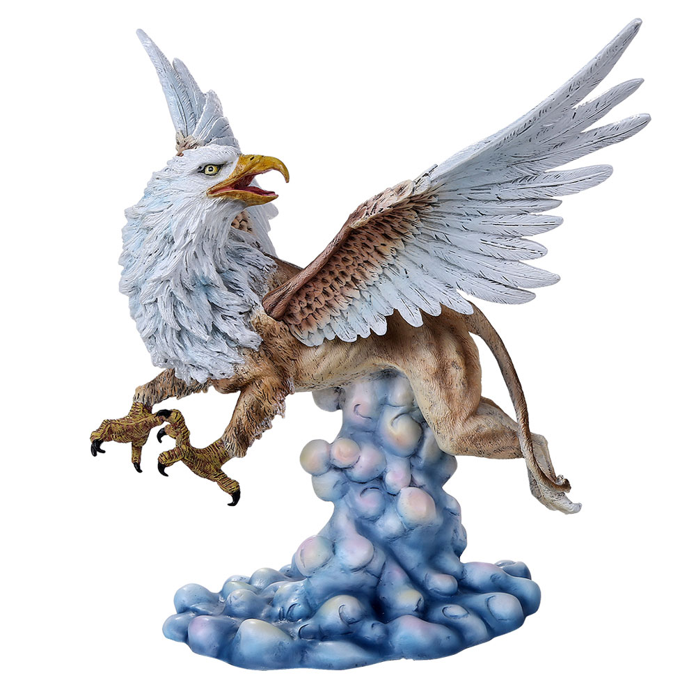 Griffin Cold Cast Resin Statue