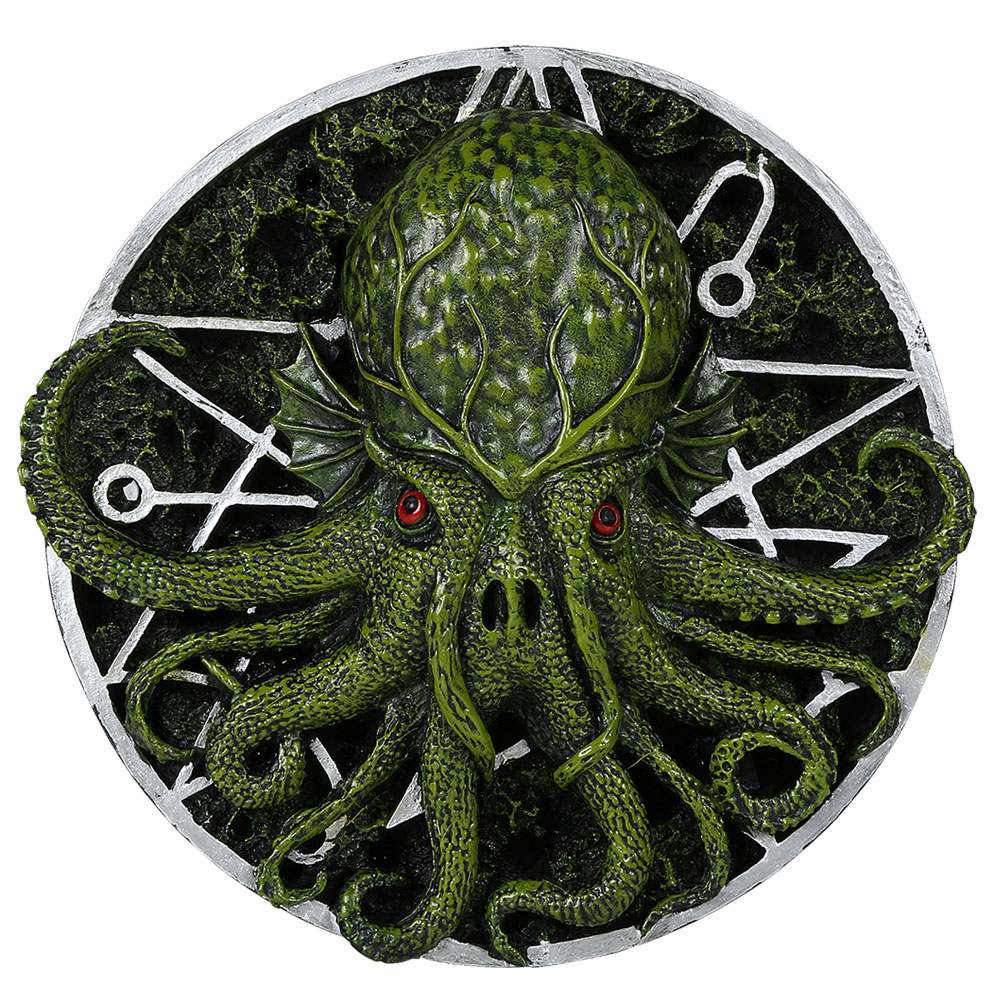 Cthulhu H.P. Lovecraft Wall Plaque