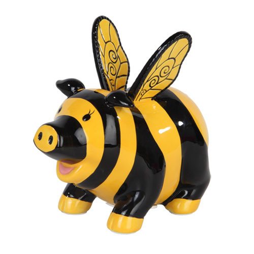 Bumble Bee Piggy Bank Bumble Bee Piggy Bank 221pt78