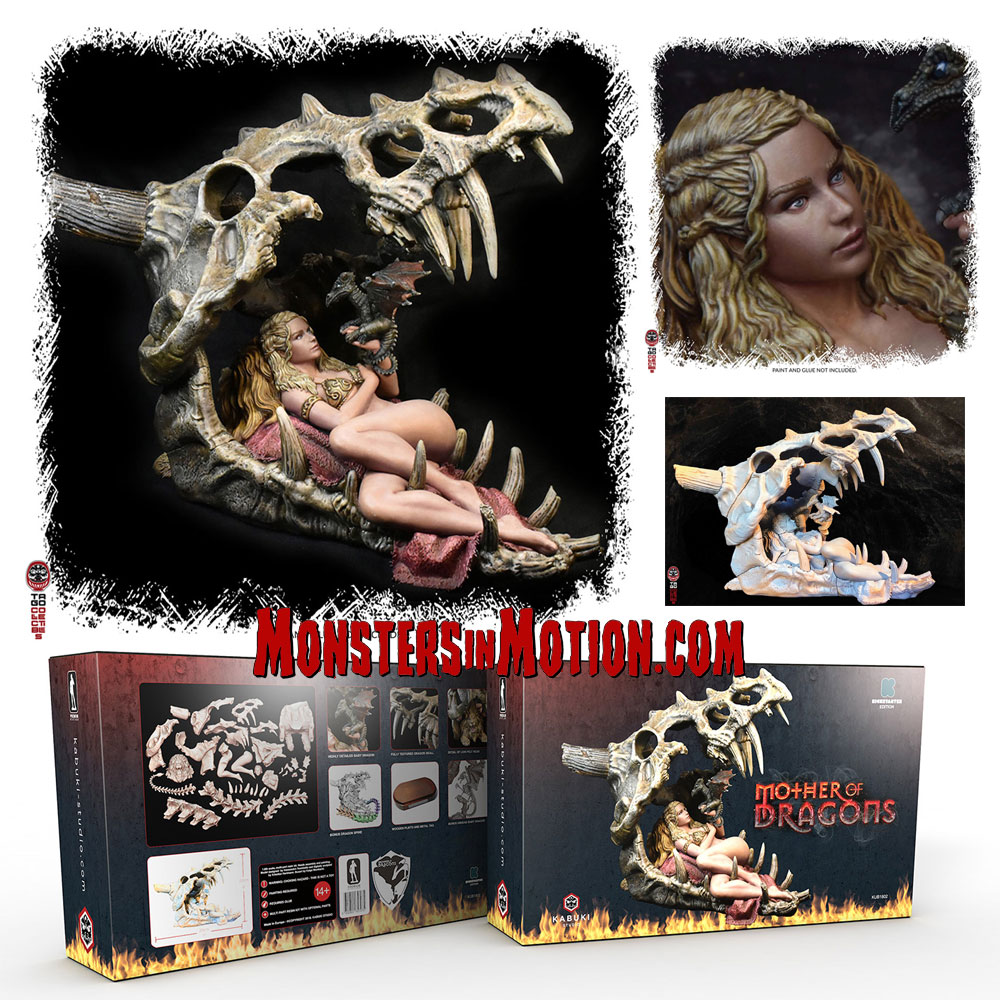 Game of Thrones Mother Of Dragons Resin Model Kit