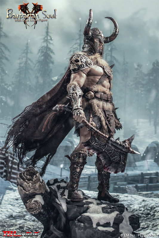 Barbarian Soul 1/6 Scale Figure by TBLeague