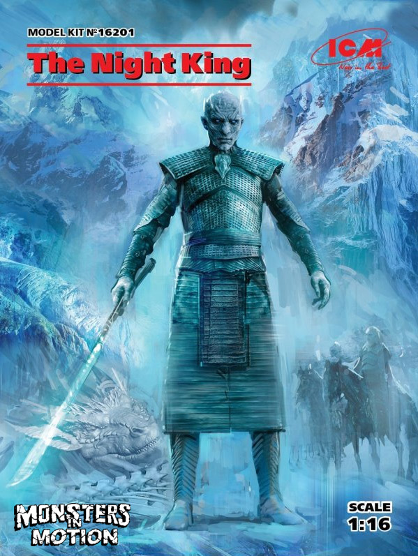 Game of Thrones Night King 1/16 Scale Model Kit