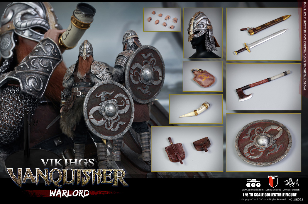 Vikings Vanquisher Warlord 1/6 Scale Figure by Coo Model
