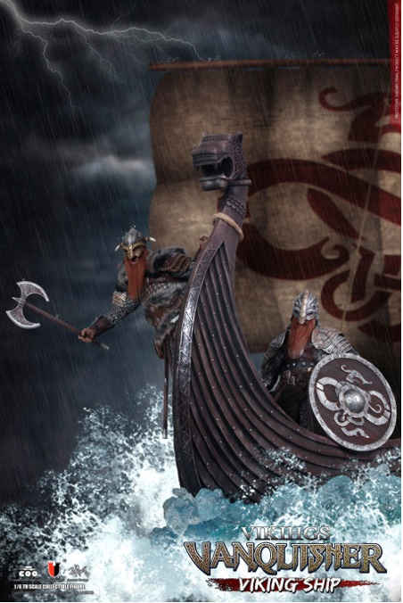 Vikings Vanquisher Viking Ship Longship 1/6 Scale Replica by Coo Model