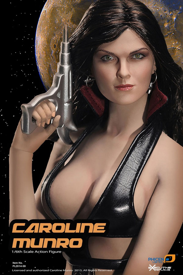 Caroline Munro Stella Star 1/6 Scale Action Figure by Phicen