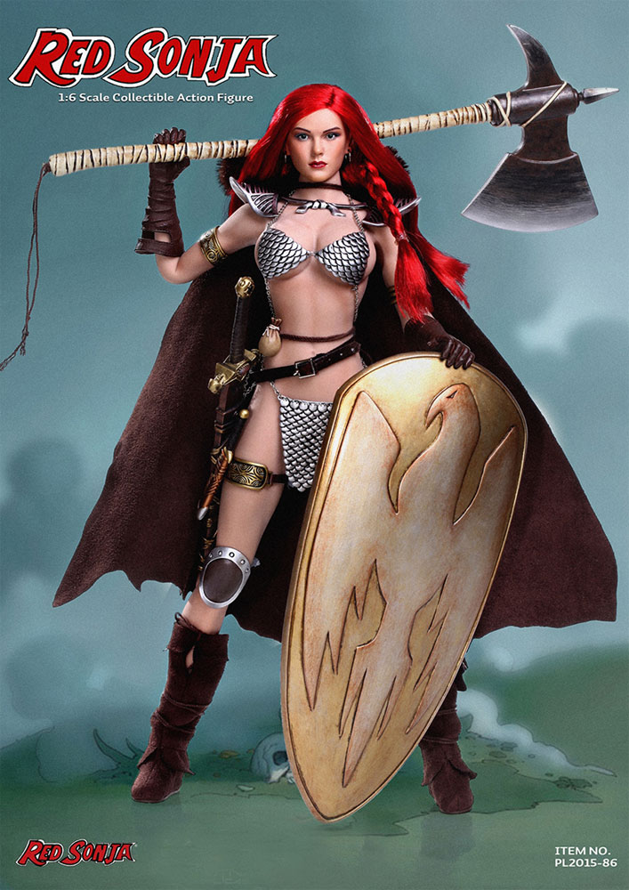 Red Sonja 1/6 Scale Action Figure