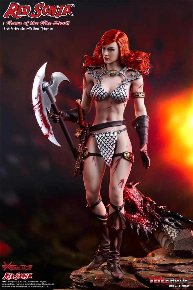 Red Sonja Scars Of The She Devil 1/6 Scale Figure by Phicen