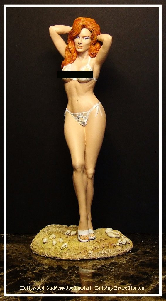 Hollywood Goddess 1:6 Scale Figure Model Kit