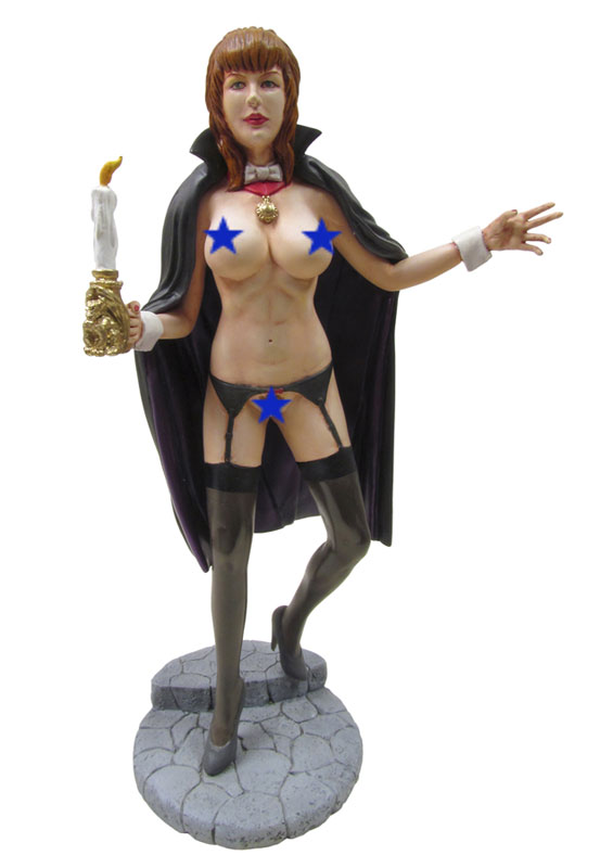 Belle of Transylvania Topless 1/7 Scale Model Kit