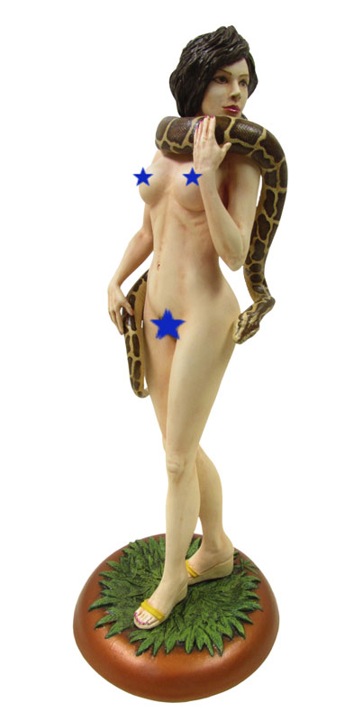 Miss Canna Bliss with Snake 1/7 Scale Model Kit