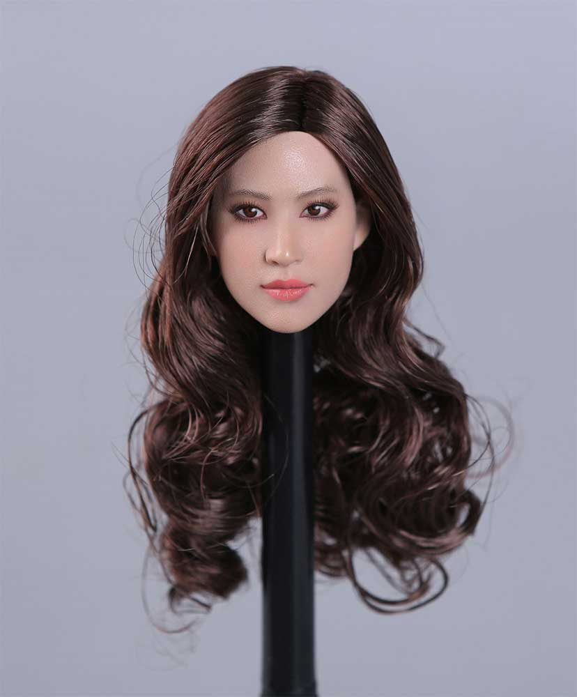 Asian Beauty Star Head Sculpture Series (PK-004) by Peak Toys