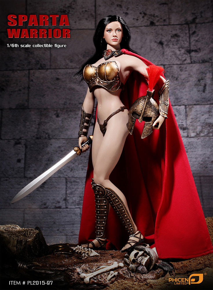 Sparta Warrior 1/6 Scale Collectible Figure by Phicen