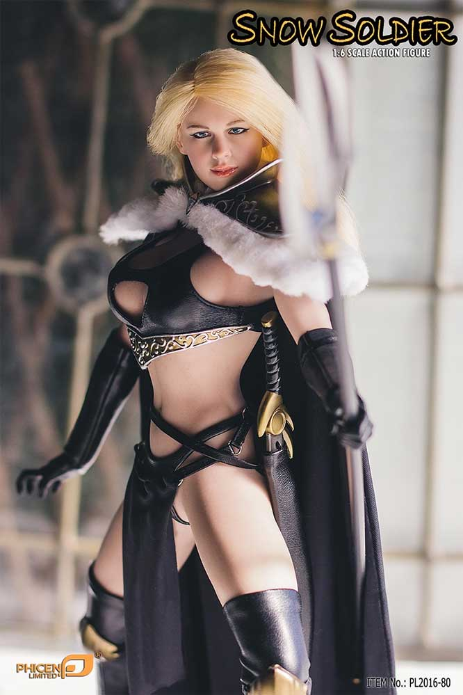 Snow Soldier 1/6 Scale Female Figure by Phicen Snow Soldier 1/6