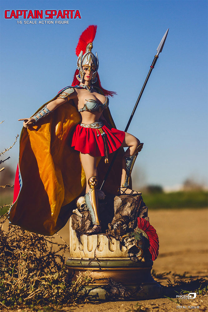 Captain Sparta 1/6 Scale Female Figure by Phicen