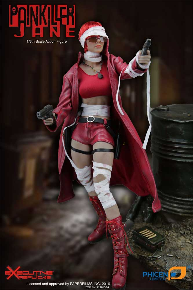 Painkiller Jane 1/6 Scale Female Figure by Phicen