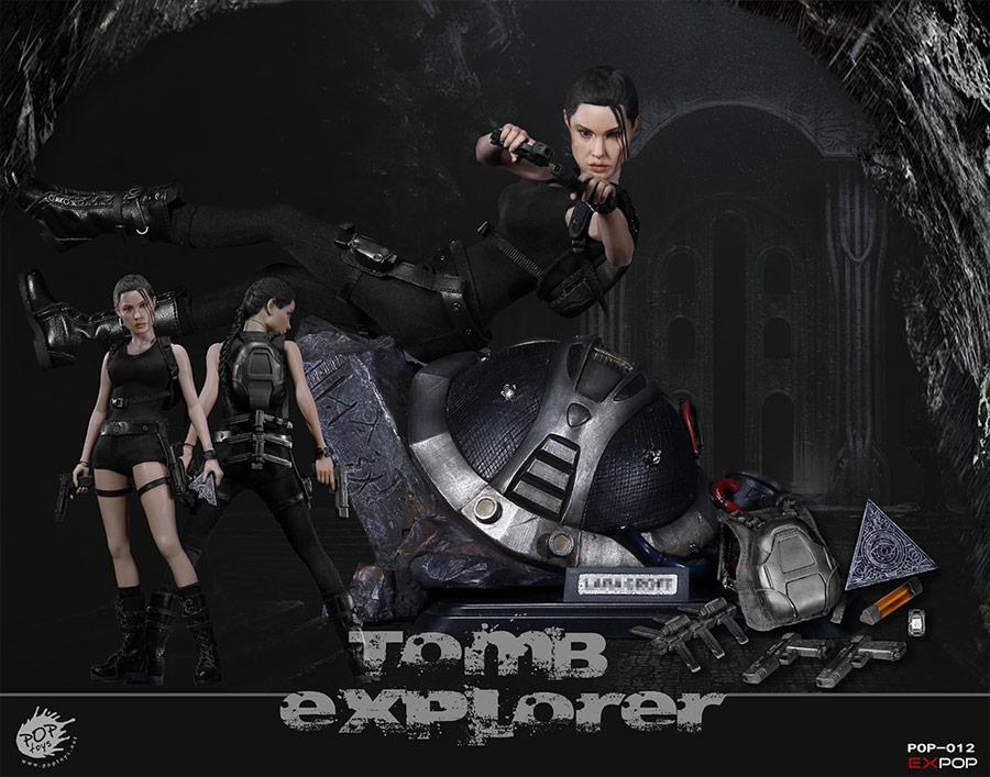 Tomb Explorer 1 6 Scale Deluxe Figure By Pop Toys Tomb Explorer 1