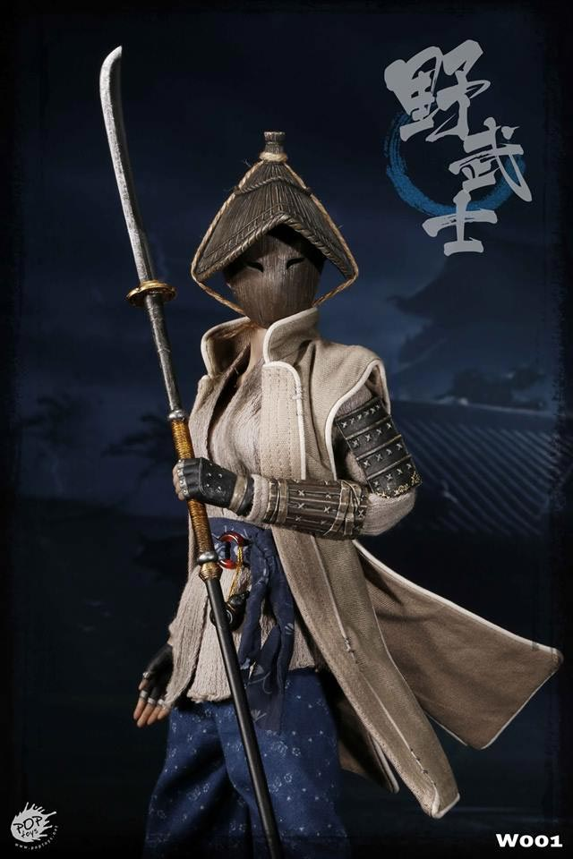 Female Ronin Nobushi Warrior Women Series 1/6 Scale Figure by Poptoys