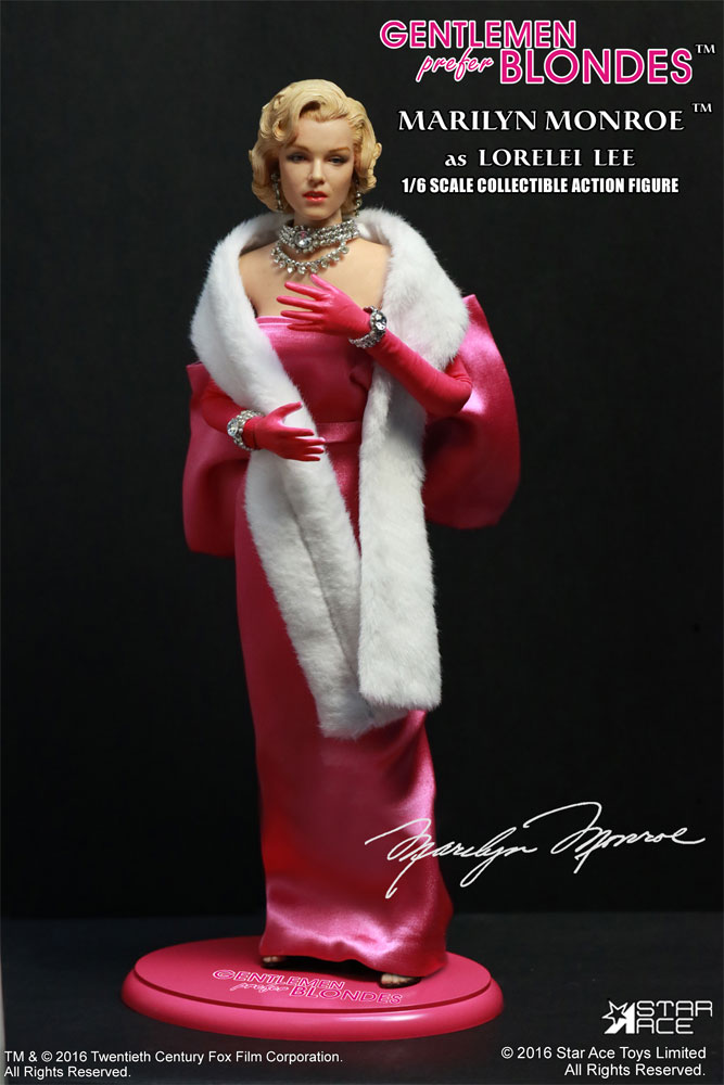 Marilyn Monroe (Pink Dress) Gentlemen Prefer Blondes 1/6 Scale Figure