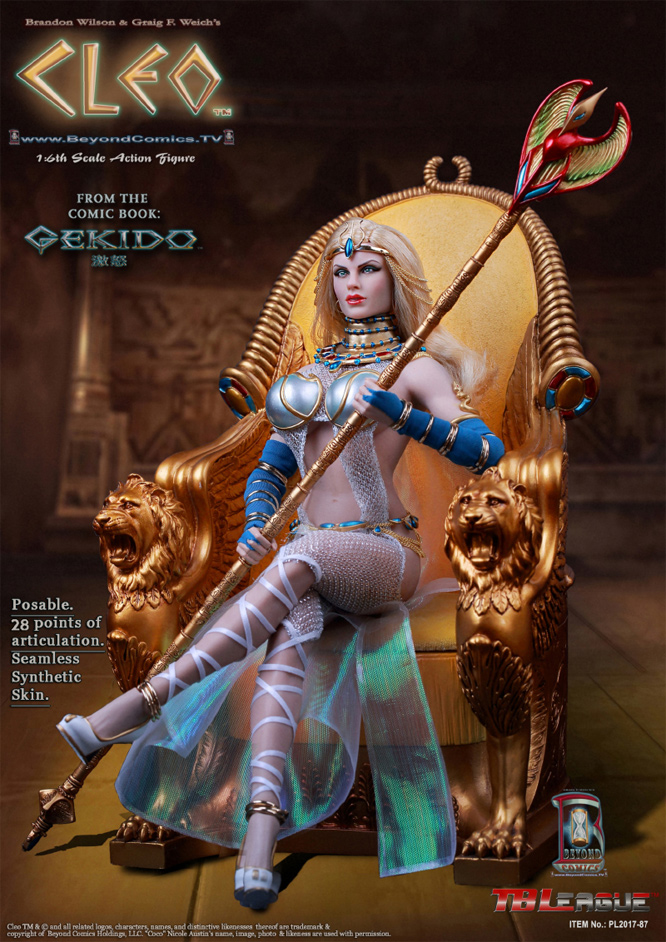 Cleo 1/6 Scale Figure Super Deluxe Set by TBLeague