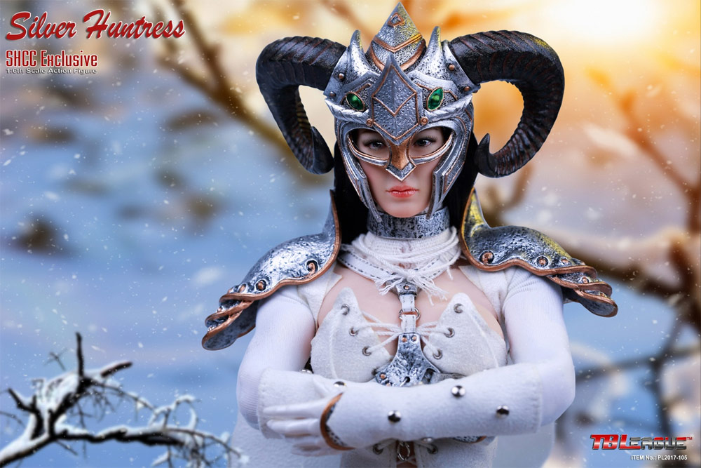 Silver Huntress Shanghai Comic-Con Exclusive 1/6 Scale Figure by Phicen - Click Image to Close