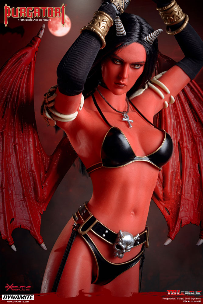Purgatori Winged Vampire Goddess 1/6 Scale Figure by TBLeague - Click Image to Close