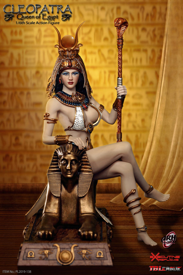 Cleopatra Queen of Egypt 1/6 Scale Figure by TB League - Click Image to Close