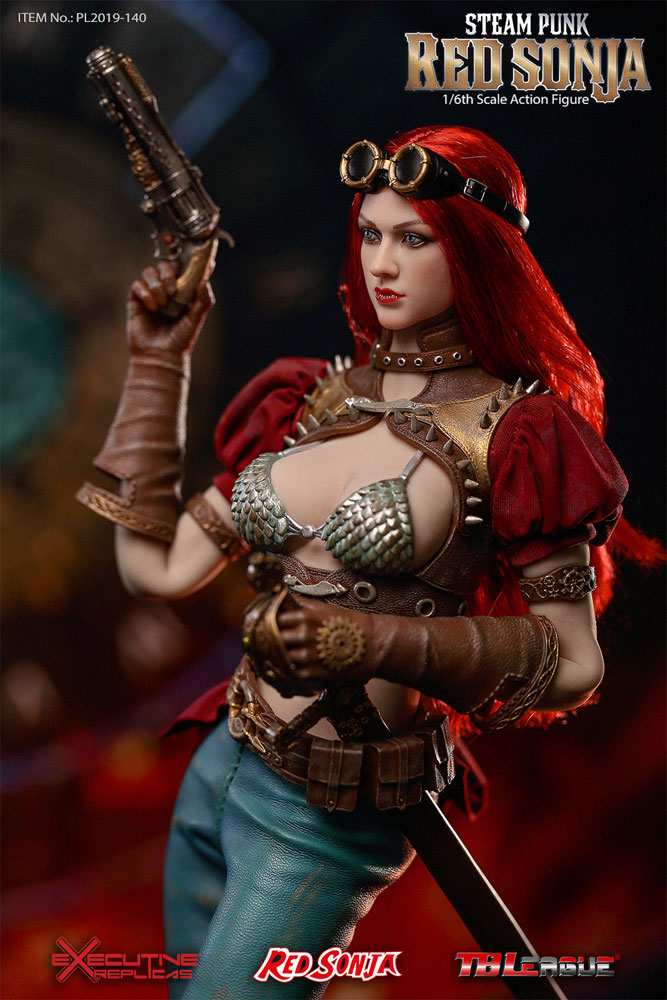 Red Sonja Deluxe Steampunk Version 1/6 Scale Figure by TBLeague