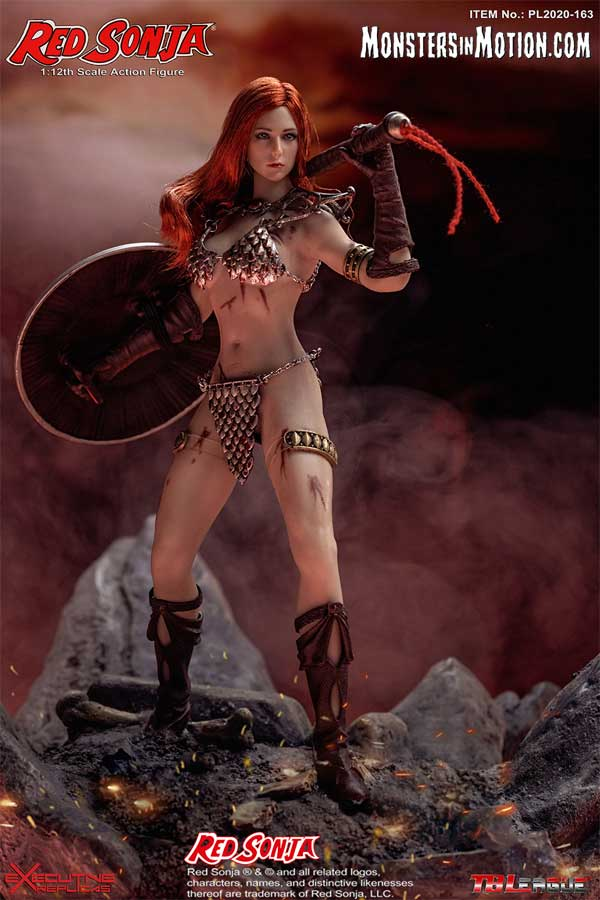 Red Sonja 1/12 Scale Figure by TBLeague